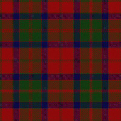 Small Crabbit Chieftain tartan