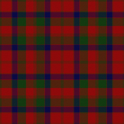 Light Scunnered Highlander tartan